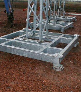 Power Grillage Foundation Installation