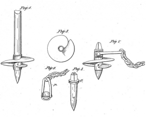 Original Patent Application, US3986 by Alexander Mitchell.