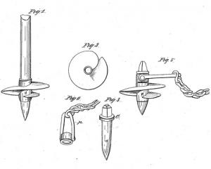 Original Patent Application, US3986 by Alexander Mitchell.