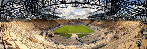stadium in Ukraine