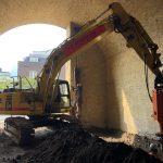 Borough Yards, Stoney Street construction project