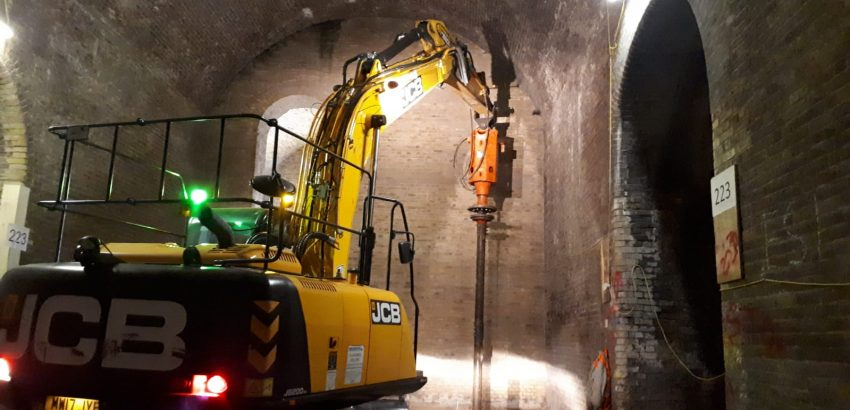 Borough Yards Helical Pile Foundations London